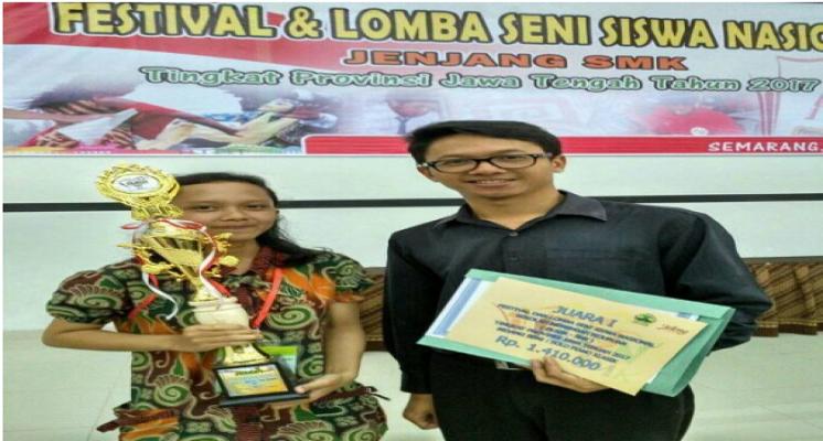 Blasia Sumbang Juara FLS2N Propinsi untuk Kab. Kebumen