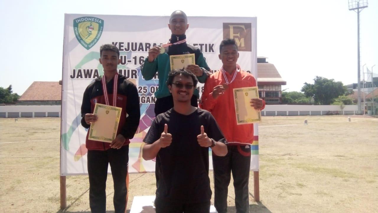 Gigih Juara Atletik Jatim Open 2018